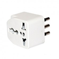 Adaptador Multi Norma 10A Blanco