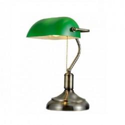 Lámpara de Escritorio Banquera E-27 color Verde