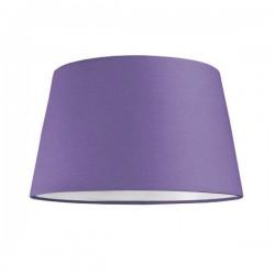 Pantalla de Lámpara Cilindro Cónico 40x30x20 Cms. Color Lila-